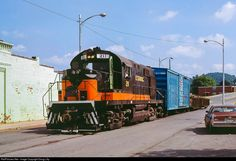 RailPictures.Net Photo: ET&WNC 211 East Tennessee & Western North Carolina Alco RS-32 at Elizabethton, Tennessee by Doug Lilly