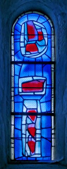 (Vitrail) Vitraux de l'église Saint-Valéry à Varengeville-sur-Mer en Seine-Maritime