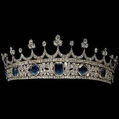 Queen Victoria's tiara, though it said wedding tiara, I doubt it. She is…