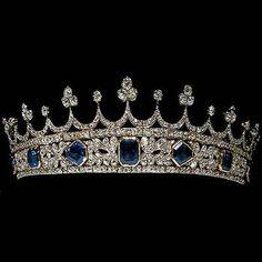 Queen Victoria's tiara, though it said wedding tiara, I doubt it. She is…