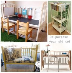 Some great ideas once your child outgrows their cot!