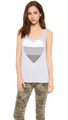 SUNDRY Heart Tank | shopbob.com