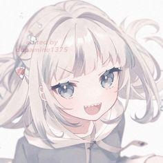 Cute Anime Chibi, Kawaii Anime Girl, Anime Girls, Pink Filter, Blue Anime, Cute Icons, Aesthetic Anime, Cool Art, Softies