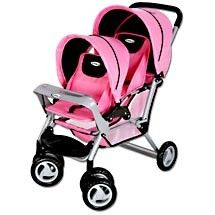 baby doll stroller 3 feet tall | ... pretend mommies will love pushing their baby dolls in the doll twin