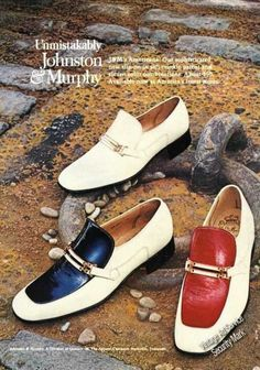 you know you love these    Johnston & Murphy Americana Shoes (1973)