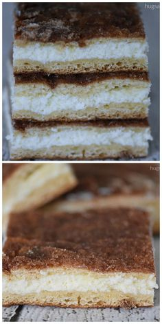 Churro Cheesecake Bars #cookiebars #barcookies #cheesecake