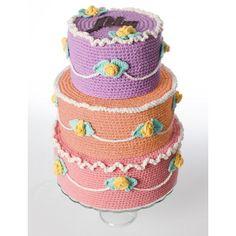 Let Them Eat Cake | Yarnspirations | Lily Suagr n' Cream |