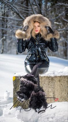 Fur Boots, Shoe Boots, Puffer Jackets, Winter Jackets, Down Suit, Fur Collars, Parka, Enchanted Doll, Jackets For Women