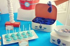 Cute Aviator party favours