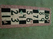 DIY Fabric HopScotch Rug