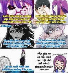 Sắp thành ôsin của nó đến nơi rồi Touka Kaneki, Manga Vs Anime, Cool Pictures, Funny Pictures, Ken Tokyo Ghoul, Comedy Anime, Kenma, Anime Life, Noragami