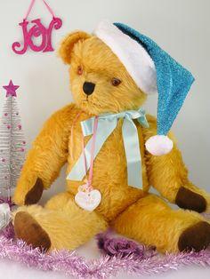 "Gabriella A Beautiful musical Pedigree bear 30""   www.onceuponatimebears.co.uk"