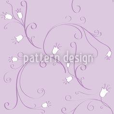 Bell Flowers In Flux Seamless Vector Pattern Vector Pattern, Pattern Design, Flux Design, Surface Design, Baby Shower, Patterns, Flowers, Babyshower, Block Prints