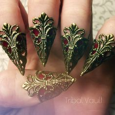 Hey, I found this really awesome Etsy listing at https://www.etsy.com/listing/209132024/filigree-claw-finger-tips-brass-finish
