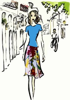 Crewsing Thru My 50's: Tips & Tricks: How to Decide Your Ideal Skirt Length (Part 2)