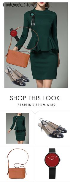 """dress"" by masayuki4499 ❤ liked on Polyvore featuring Chanel and Cole Haan"