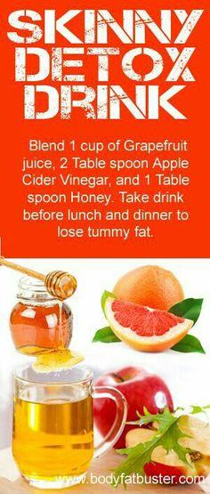 Skinny detox drink