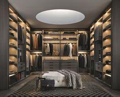 dit vind ik een hele mooie ruimte met ieder een eigen kleding kant en dit in combinatie aangesloten op de slaapkamer perfect.