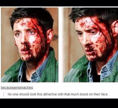 There's only one simple explanation...he's Jensen Ackles