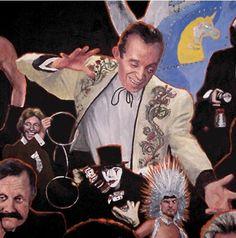 """Las Vegas Magic"" mural detail - Tony Slydini by Dean Huck on ARTwanted"