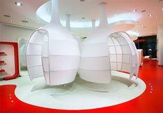 Uzumaki Interior Design: Fashion Store Interior Decorating Ideas - Miss Sixty by Borruso Design