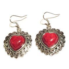 Heart earrings Heart earrings Jewelry Earrings