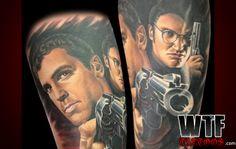 12 best dusk to dawn tattoos images on pinterest horror tattoos dusktilldawn love portraits done right horror tattoos movie tattoos maxwellsz