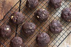 Double Chocolate Chunk Macadamia Nut Cookies