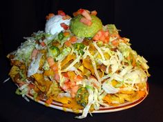 New Mexican Appetizers - Nachos