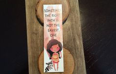 Leading Ladies Collection Bookmark Quote by OtterNonsenseDesigns Bookmarks Quotes, Lead Lady, Unique Jewelry, Disney, Handmade Gifts, Easy, Vintage, Kid Craft Gifts, Craft Gifts