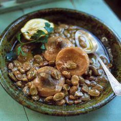 Artichoke and Fava Stew with Lemon Sauce Recipe | SAVEUR