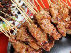 Grilled Pork Sticks (moo ping)