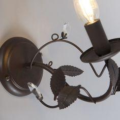 Shop for Wall Lamp Piombino 1 Rust online! Bedroom Lighting, Vintage Lighting, Rust, Vintage Inspired, Wall Lights, Led, Inspiration, Home Decor, Biblical Inspiration