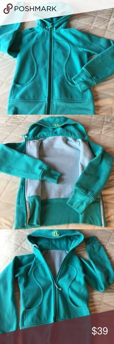 ✨Lululemon Turquoise Blue Scuba Hoodie✨ Gorgeous lululemon hoodie in super condition! I find it's just a bit too thick for Hawaii. Super soft. Great for those spring nights when there is a chill in the air! lululemon athletica Tops Sweatshirts & Hoodies