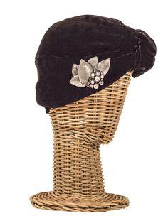 Turbante ALMA NEGRA / Hippie, boho-chic, ethnic style. Fashion, Party Elegant Style. Rosebell turban -