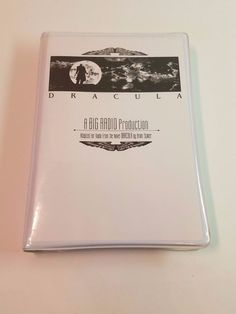 Bram Stoker's Dracula Audio Cassette Tape Book Radio Production Horror Classic