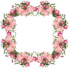 free vintage roses frames and border png – Vintage Rosenrahmen png – Freebies   MeinLilaPark – digital freebies