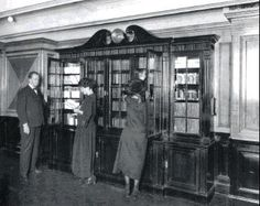The Titanic 2nd class library