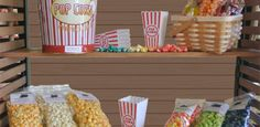 Popcorn Express: We specialize in popcorn, Cheese, seasoned, glazed! We also have Popcorn Tins, Gift Baskets, Balloons and we take special orders for Special Occassions! Our NEW addition is Candy Bouquets! Customize your arrangement for that special occasion. We deliver!!!