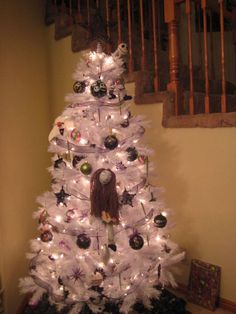 """Our """"The Nightmare Before Christmas Tree."""""""