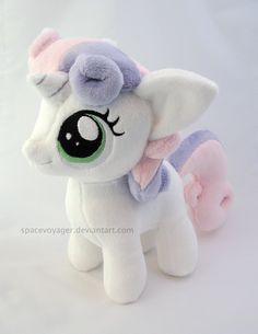 Sweetie Belle by PlanetPlush on DeviantArt
