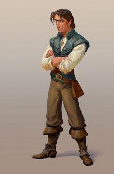 Flynn Rider Jin Kim (drawing), Dan Cooper (digital), Dave Goetz (art direction) | Digital
