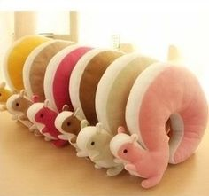 Novelty Squirrel Animal Cotton U Shape Neck Pillow Travel Car Home Pillow Nap Pillow Retail $11.99