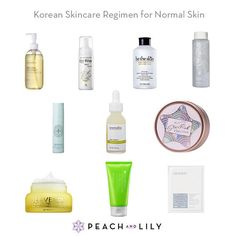 Korean Skincare Regimen: Normal Skin | Peach and Lily