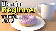 Blender Beginner Tutorial - Part 8: Lighting