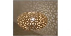 Pendant lamp / original design / bamboo - KINA - David Trubridge Design