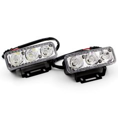 High Power 2Pcs/Set 6 Led 9W Universal Car Light Source Waterproof DC12V DRL Daytime Running Light Auto Lamp White Free Shipping -- You can get more details by clicking on the image.
