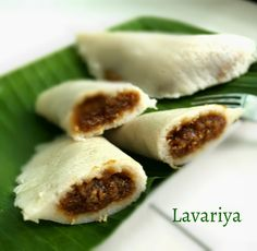 Enjoy popular Sri Lakan recipes | : Lavariya – Sweet Dumpling String Hoppers (ලැවරියා)