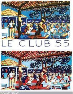 SAINT-TROPEZ -         Le Club 55 #www.frenchriviera.com