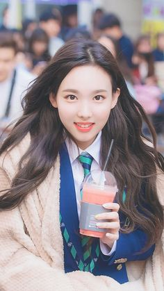 Im Nabongs 🐰😍💜 Twice Show, Twice Once, Kpop Girl Groups, Korean Girl Groups, Kpop Girls, Warner Music, Twice Fanart, Nayeon Twice, Im Nayeon